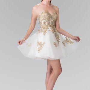 Sweetheart Neck A-Line Shape Prom Dress GS2371